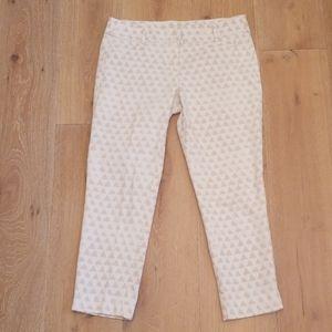 Loft - Marisa Cropped Rivera Pant Jeans